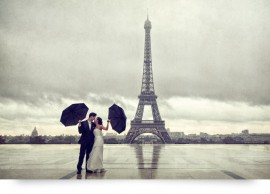 after wedding shooting paris eiffelturm