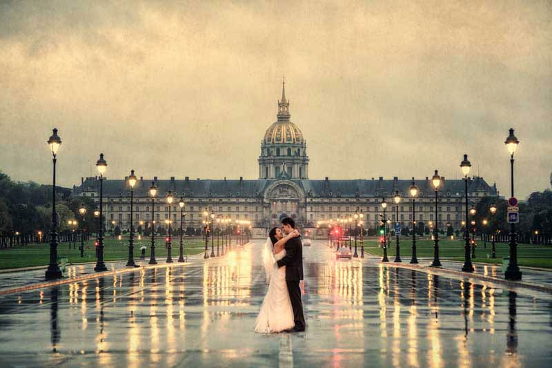 After Wedding Shooting Paris