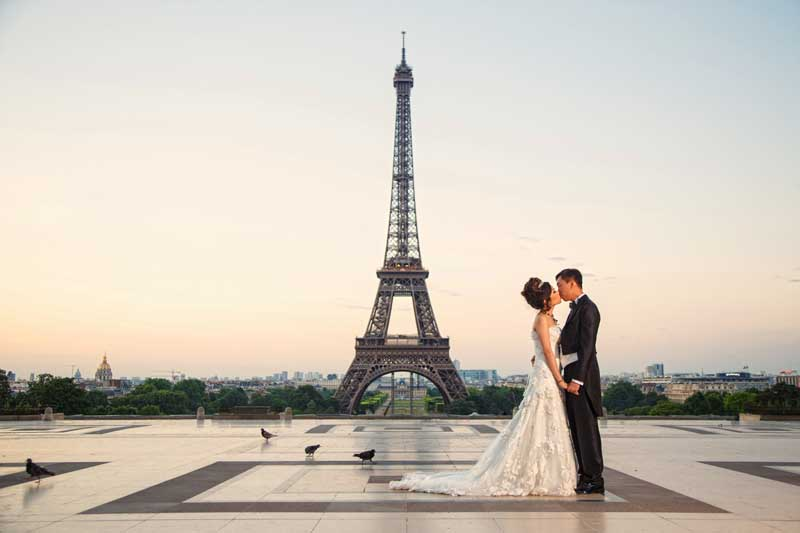 Pre Wedding Shooting Paris