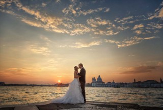 After Wedding Shooting Venedig