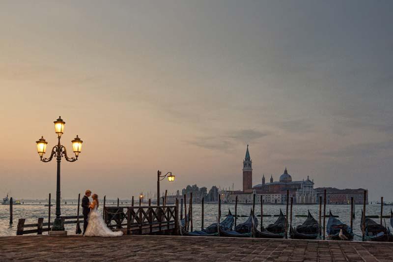 Hochzeitsfoto Venedig