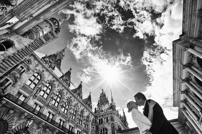 Hochzeitsfotograf Rathaus Hamburg