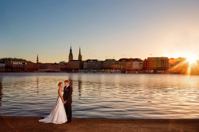After Wedding Shooting Hamburg