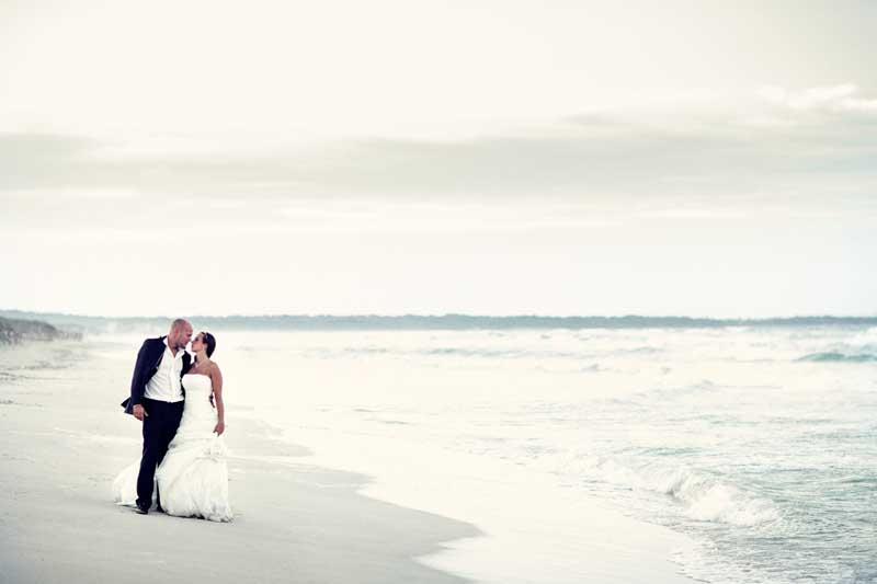 After Wedding Shooting Mallorca am Strand