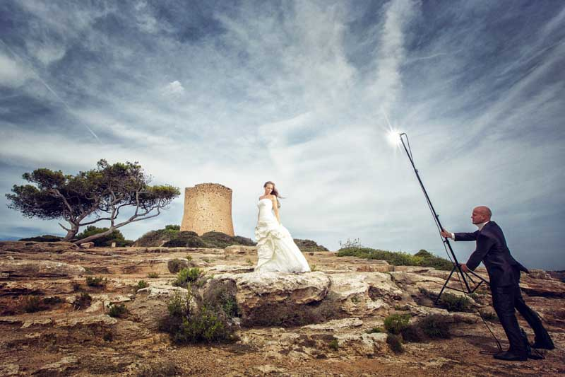 After Wedding Shooting Mallorca