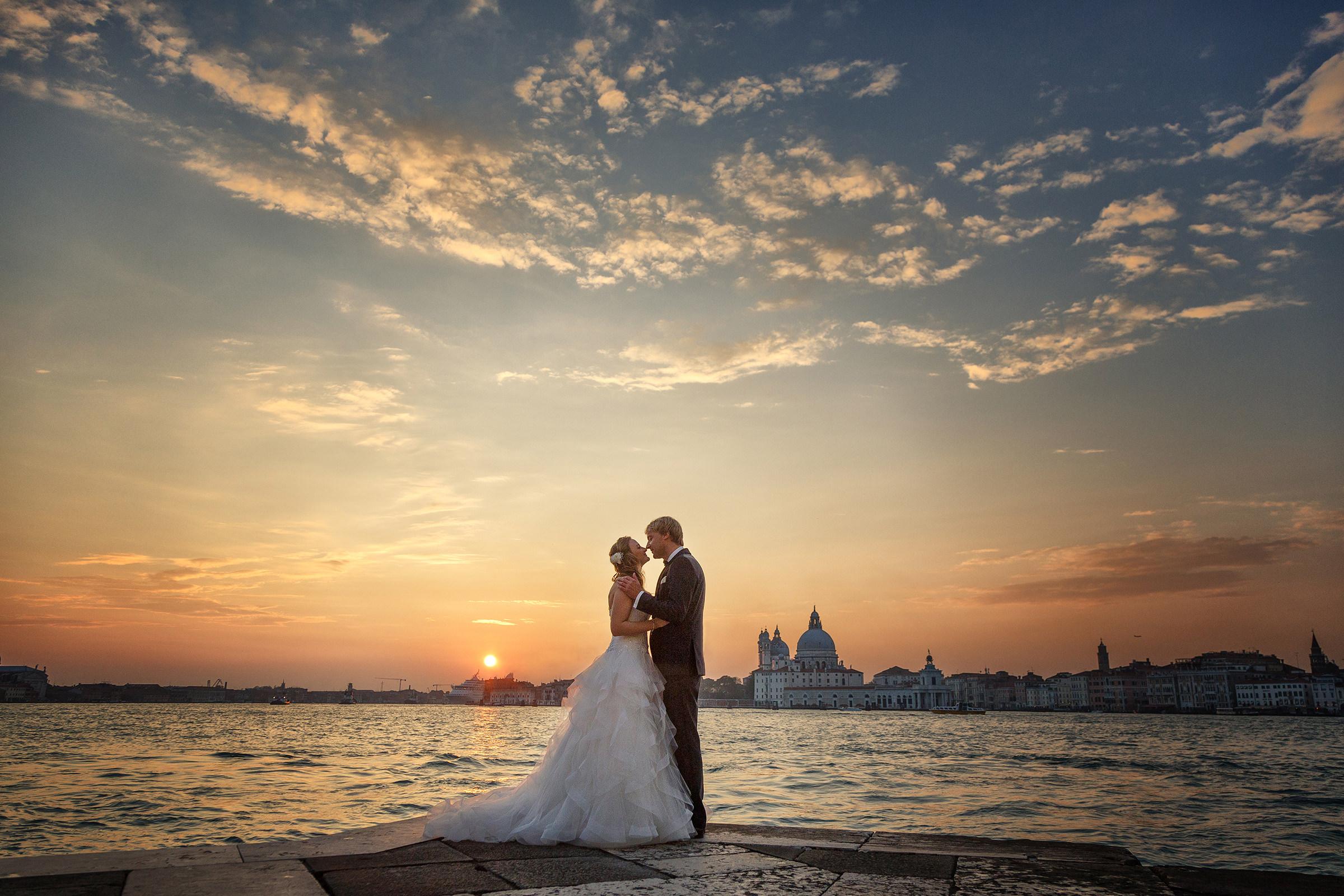 After Wedding Shooting Venedig