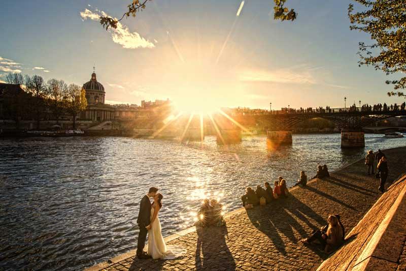 Hochzeit Paris Pont 'd Art