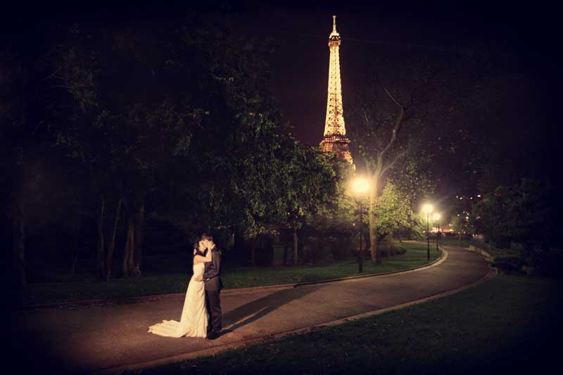 Hochzeit Paris Eiffelturm