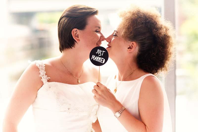 Lesbische Hochzeit Hamburg