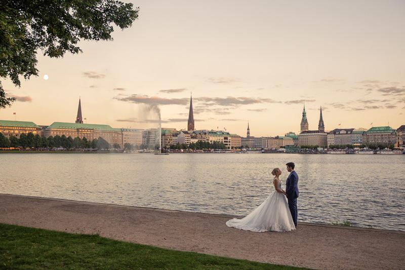 Hochzeit Hamburg Alster